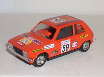 Peugeot 104 ZS Antibes 1980 - auto miniature 1:43