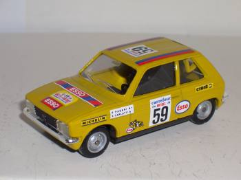 Peugeot 104 ZS Antibes 1980 - Solido 1:43