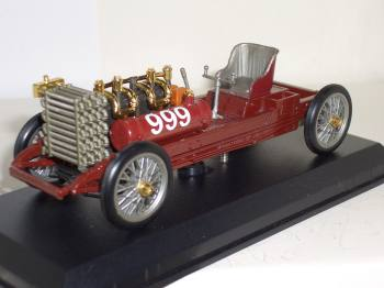 Ford 999 speed record 1902 - Brumm 1:43