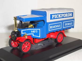 Foden C-Type steam lorry 1922 - Matchbox 1/43