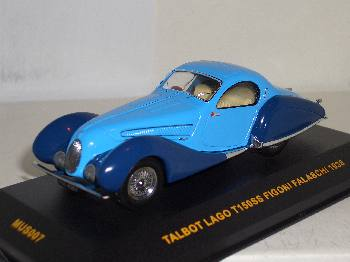 Talbot Lago T150SS 1938 - Ixo model car 1/43