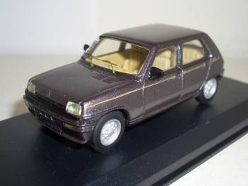 Renault_5_Laureate_1977- Mini racing 1:43