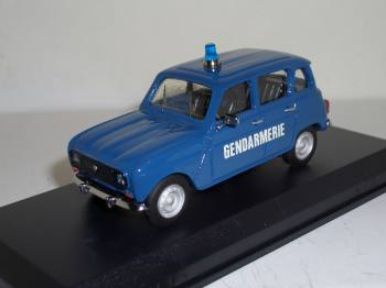 Renault 4 TL Gendarmerie Mini Racing 1:43