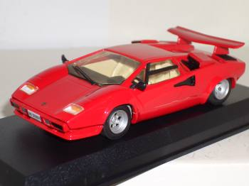 lamborghini countach 5000 s 1985 starter modelcar 1 43 lamborghini countach lp 400 s 1985 smts. Black Bedroom Furniture Sets. Home Design Ideas