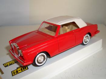 Bentley Continental 1990 - Solido mini car 1:43
