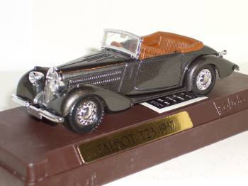 Talbot T 23 1931-Solido scale car 1/43