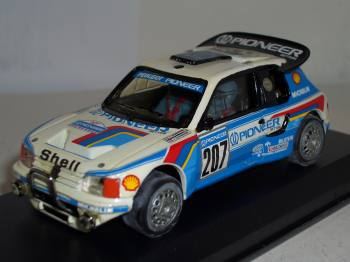 Peugeot 205 Turbo Paris-Dakar 1986  - Vitesse 1/43